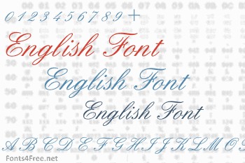 English Font Download - Fonts4Free