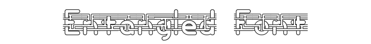 Entangled Font Preview