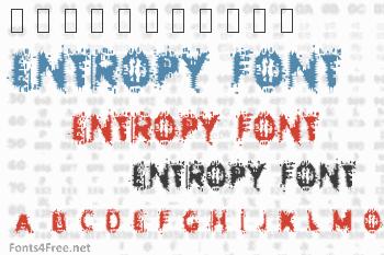 Entropy Font