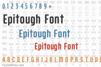 Epitough Font
