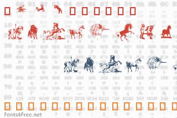 Equestrian Font