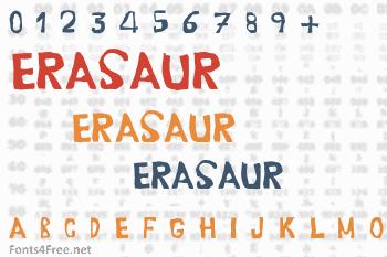 Erasaur Font
