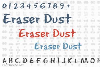 Eraser Dust Font