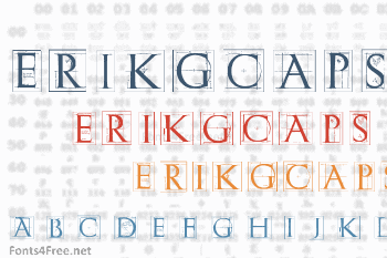 ErikGCaps Font
