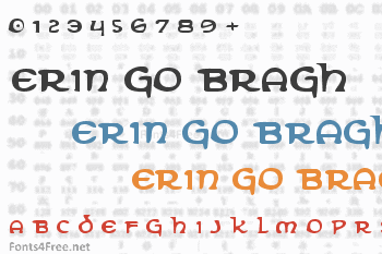 Erin Go Bragh Font