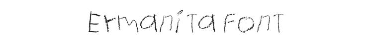 Ermanita Font Preview
