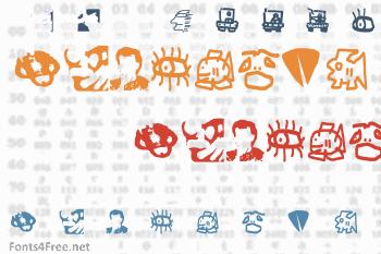 Eros Simboli Font