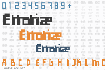 Errorize Font