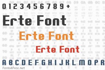 Erte Font