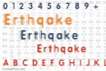 Erthqake Font