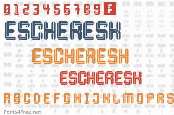 Escheresk Font
