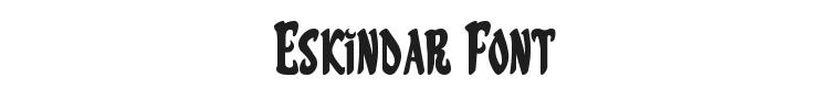 Eskindar Font Preview