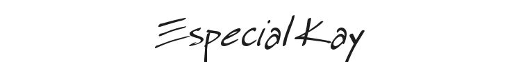 Especial Kay Font Preview