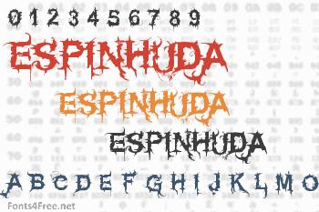 Espinhuda Font