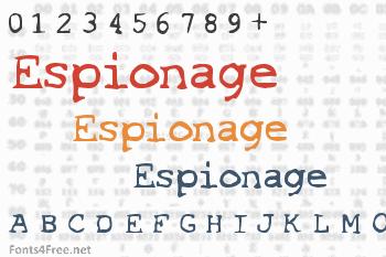 Espionage Font
