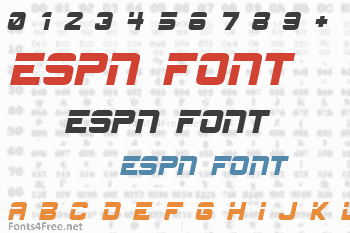 ESPN Font