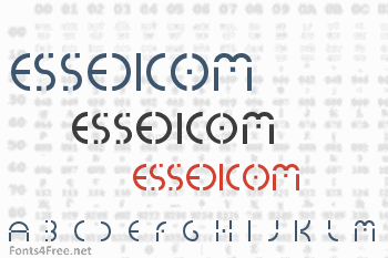 Essedicom Font