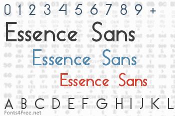 Essence Sans Font