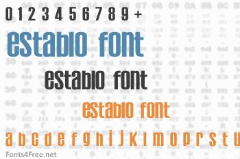 Establo Font