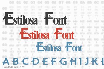 Estilosa Font