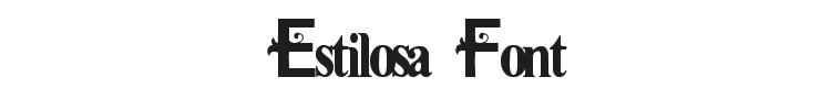 Estilosa Font Preview