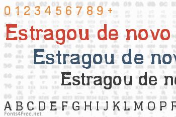 Estragou de novo Font