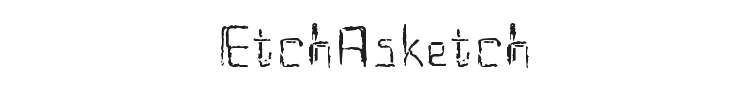EtchAsketch Font Preview