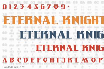 Eternal Knight Font