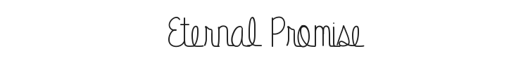 Eternal Promise Font Preview