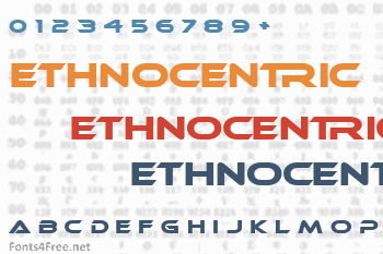 Ethnocentric Font