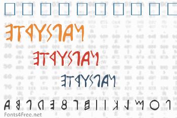 Etruscan Font