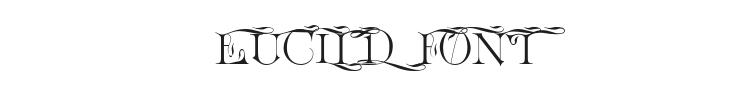 Euclid Font