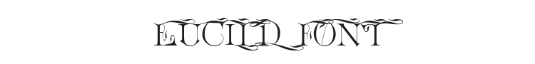 Euclid Font Preview