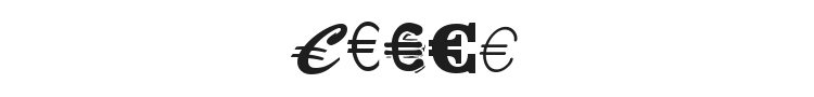 Euro Collection Font Preview