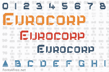 Eurocorp Font