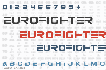 Eurofighter Font