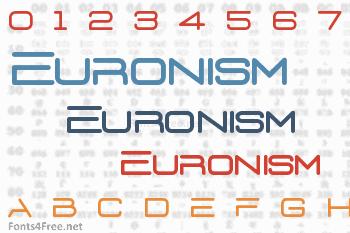 Euronism Font