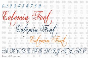 Eutemia Font