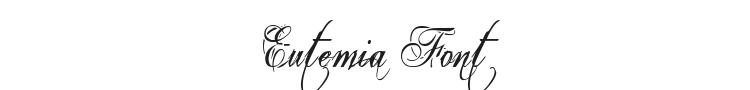 Eutemia Font Preview
