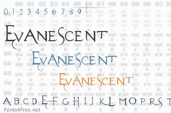 Evanescent Font