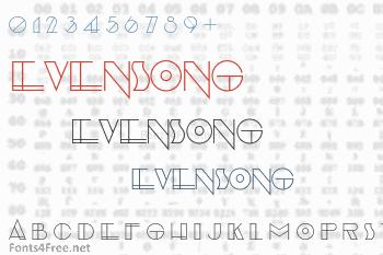 Evensong Font