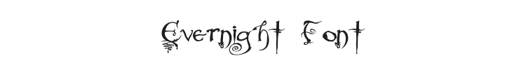 Evernight Font Preview