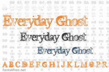 Everyday Ghost Font