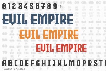 Evil Empire Font