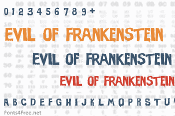 Evil of Frankenstein Font