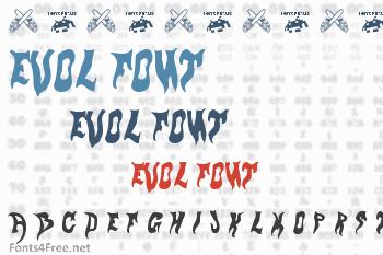 Evol Font