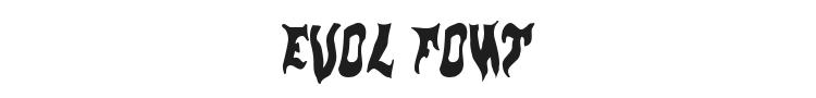 Evol Font Preview