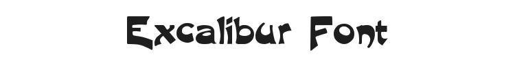 Excalibur Font Preview