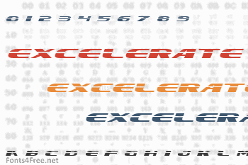 Excelerate Font