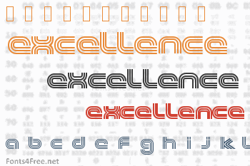 Excellence Font